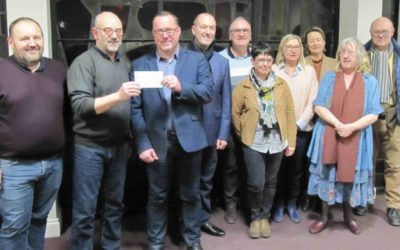 Le Rotary club s'est montré généreux avec l'association