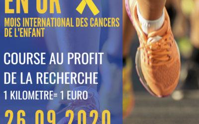 Chacun peut courir pour la recherche contre le cancer des enfants