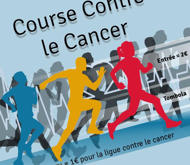 Course solidaire contre les cancers de l'enfant et de l'adolescent